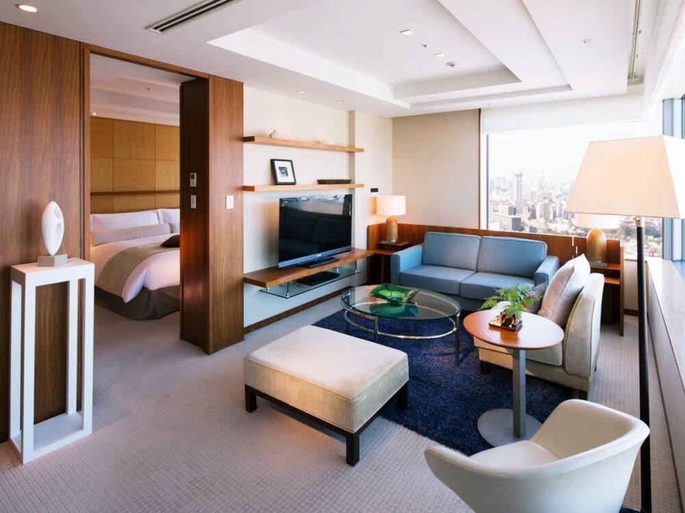 ストリングスホテル東京インターコンチネンタル 高級ホテルをデイユース