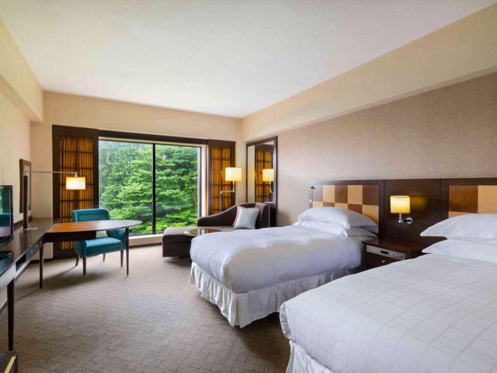 「デイユース」できる【シェラトンホテル】テレワーク、カップルにおすすめ! シェラトン都ホテル東京