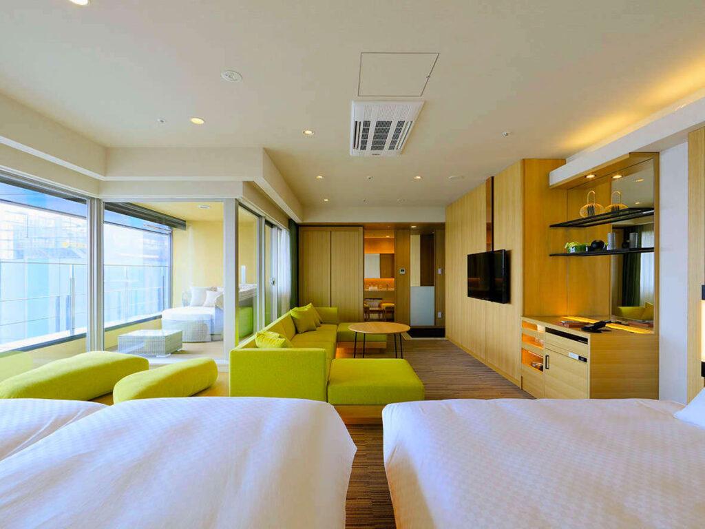 THE SINGULARI HOTEL & SKYSPA【USJ周辺】デイユースできるホテル 休憩・仮眠に!